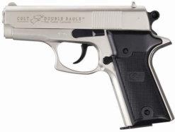 Plynová pištoľ Colt Double Eagle Combat Commander nikel kal.9mm