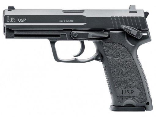 Airsoft Pištoľ Heckler&Koch USP BlowBack AGCO2