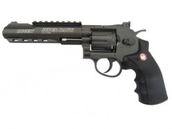 "Airsoft Revolver Ruger SuperHawk 6"" čierny AGCO2"