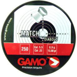 Diabolo Gamo Match 250ks kal.5,5mm