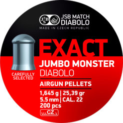 Diabolo JSB Exact Jumbo Monster 200ks kal.5,52mm