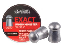 Diabolo JSB Exact Jumbo Monster Redesigned 200ks kal.5,52mm