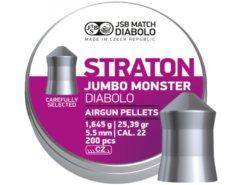 Diabolo JSB Jumbo Straton Monster 200ks kal.5,51mm