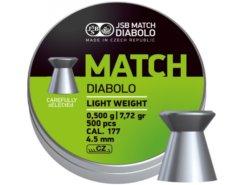 Diabolo JSB MatchDiabolo JSB Match pištoľ 500ks kal.4,5mm pištoľ 500ks kal.4,5mm