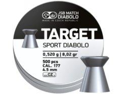 Diabolo JSB Target Sport 500ks kal.4,5mm