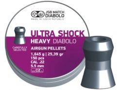 Diabolo JSB Ultra Shock Heavy 350ks kal.4,52mm