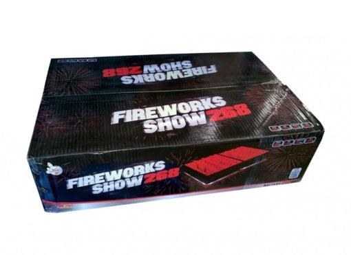 Kompaktní ohňostroj Fireworks Show 268ran / 20 mm