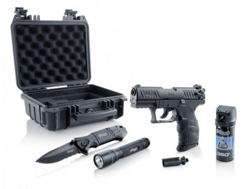 Plynová pištoľ Walther P22Q R2D Kit