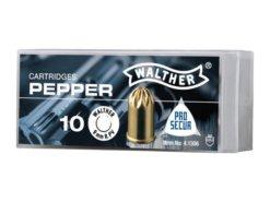 Plynové náboje PV-S 9mm revolver 10ks Supra Pepper Walther