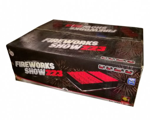 Pyrotechnika Kompakt 223rán / 20, 25mm Fireworks show 223
