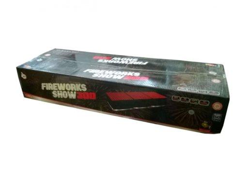 Pyrotechnika Kompakt 300rán / 25mm Fireworks show 300
