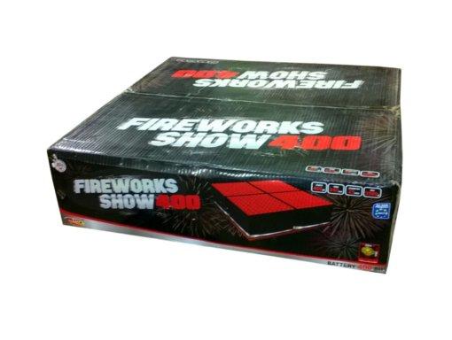 Pyrotechnika Kompakt 400rán / 25mm Fireworks show 400
