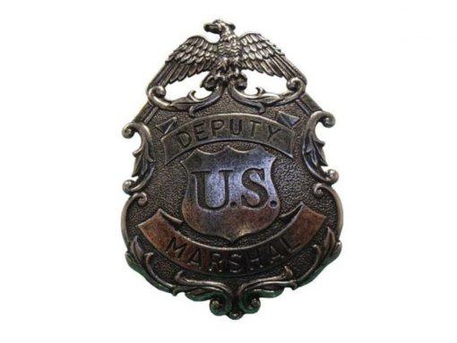Replika Odznak zástupcu US Marshal 8,8cm