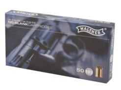 Štartovacie náboje 9mm revolver 50ks Walther