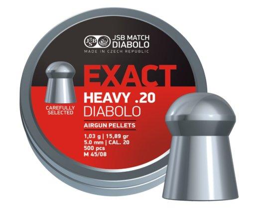 Diabolo JSB Exact Heavy 500ks cal.5,0mm