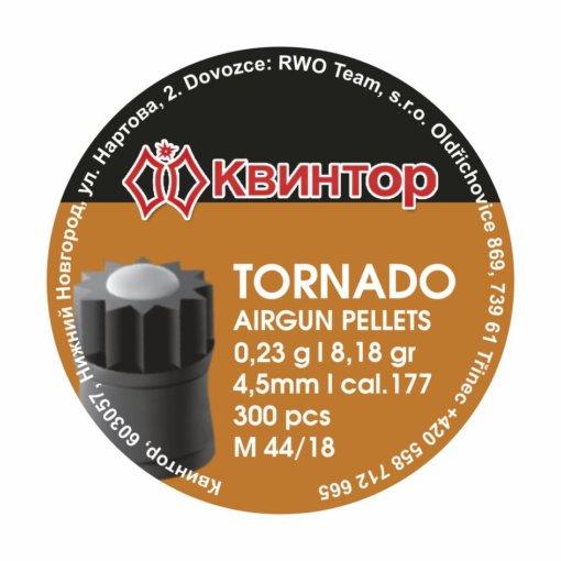 Diabolo Kvintor Tornado B cal.4,5mm 300ks