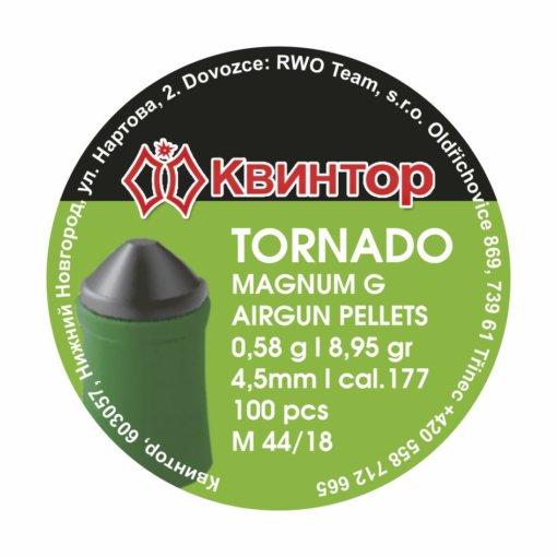 Diabolo Kvintor Tornado Magnum G cal.4,5mm 100ks