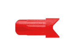 Končík šípu kuše Easton FMJ Half Moon červený