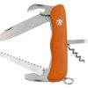 Nůž Mikov Praktik 115-NH-6/AK oranžový
