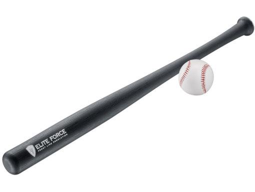 Baseball pálka s loptičkou Elite Force EF1000 čierna