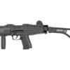 Plynová pištoľ Ekol ASI s pažbou čierna kal.9mm