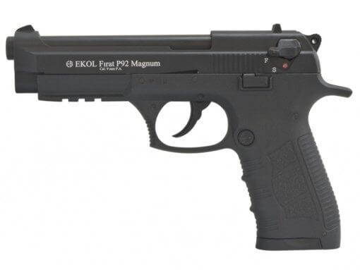 Plynová pištoľ Ekol Firat Magnum P92 čierna kal.9mm