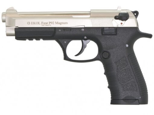 Plynová pištoľ Ekol Firat Magnum P92 satén kal.9mm