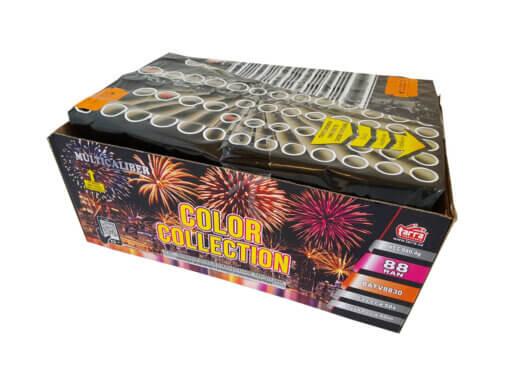 Pyrotechnika Kompakt 100rán / 20,25,30mm Color Collection