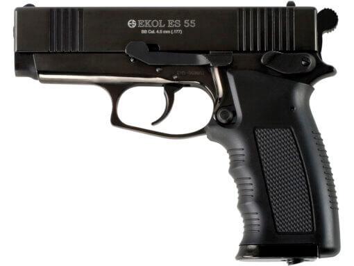 Vzduchová pištoľ Ekol ES 55 čierna