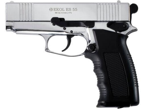 Vzduchová pištoľ Ekol ES 55 chróm
