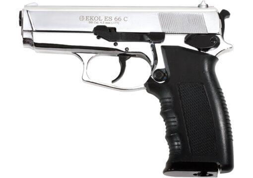 Vzduchová pištoľ Ekol ES 66 Compact chróm
