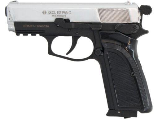 Vzduchová pištoľ Ekol ES P66 Compact chróm