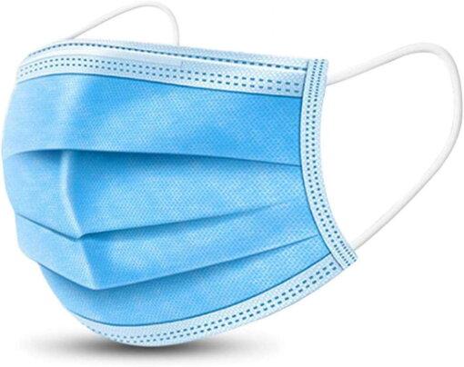 Rúška jednorázová modrá