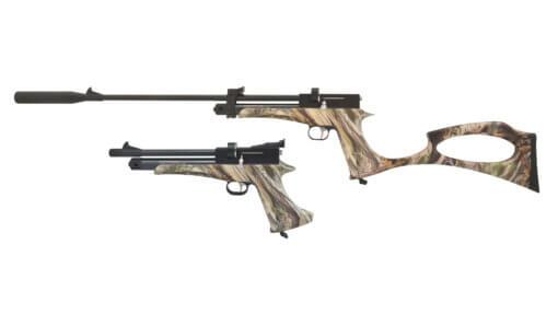 Vzduchová pištoľ SPA Artemis CP2 camo kal.4,5mm