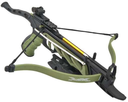 Kuša pištolová Beast Hunter Aligator TCS1 80lbs zelená
