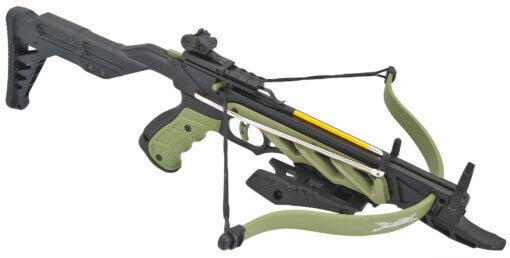 Kuša pištolová Beast Hunter Aligator TCS2 80lbs zelená